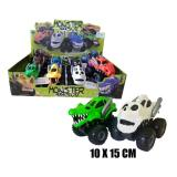 COCHES MONSTER 4X4 SUP. FRICCION 15X10 CM.